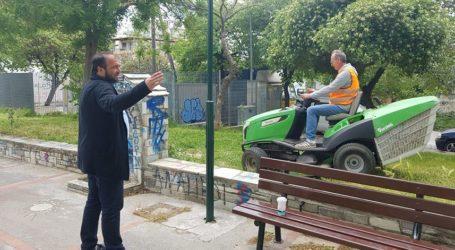 Καρέ καρέ η επιχείρηση «Πράσινο» στον Βόλο – Καθαρίστηκε και το πάρκο Επισκοπής [εικόνες]