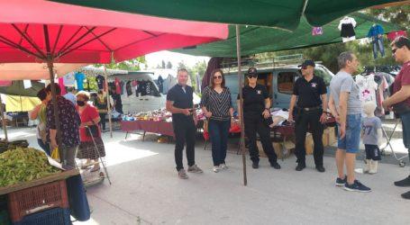 Αυτοψία Γκογκινούδη – Μποντού στη λαϊκή αγορά της Ν. Αγχιάλου