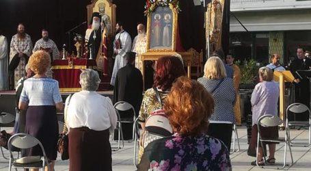 Βόλος: Ένας διαφορετικός εσπερινός για τη γιορτή των Αγ. Κωνσταντίνου και Ελένης – Δείτε εικόνες