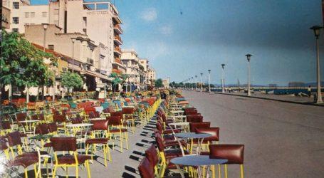 Η παραλία του Βόλου με τα τραπεζάκια των καφέ πριν από 55 χρόνια!