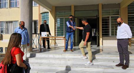 Ξεκίνησε σήμερα η διάθεση πάνινων μασκών για την κάλυψη αναγκώναπό το Δήμο Αγιάς
