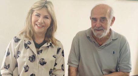 Συνάντηση της Ζέττας Μακρή με τον πρόεδρο της ειδικής επιστημονικής επιτροπής που θα εκτιμήσει τις ζημίες των ελαιοπαραγωγών της Μαγνησίας