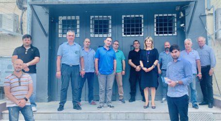 Συνεργασία της Ζέττας Μακρή με τον διευθυντή και τα Δ.Σ. των σωματείων των εργαζομένων του Ειδικού Κέντρου Κράτησης Νέων Βόλου