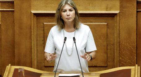 Μετά από αναφορά της Ζέττας Μακρή, άμεση επίσπευση της έγκρισης των μελετών του λιμένα Αγνώντα Σκοπέλου από τους αρμόδιους υπουργούς