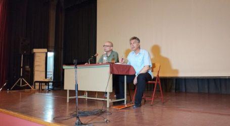 Γενική συνέλευση για το πολυνομοσχέδιο στην Παιδεία και τις κάμερες στα σχολεία πραγματοποίησε η ΕΛΜΕ Λάρισας (φωτο)