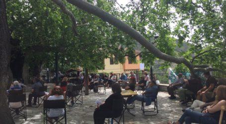 Οι κάτοικοι Σταγιατών απαντούν στη ΔΕΥΑΜΒ: Αποδέσμευσαν την πηγή για να την εκμεταλλευτούν
