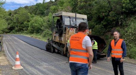 Ασφαλής ο δρόμος Αγιά – Μελιβοία – παράλια: Σε εξέλιξη έργο 530.000 ευρώ από την Περιφέρεια Θεσσαλίας