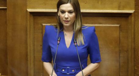 Στέλλα Μπίζιου: Προτεραιότητα ο πρωτογενής τομέας
