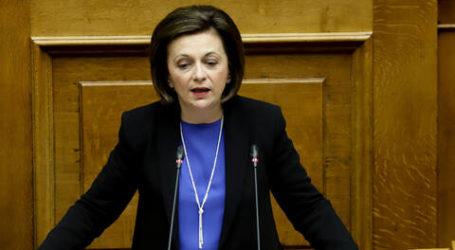 Μ. Χρυσοβελώνη: Να είμαστε αδιαπραγμάτευτοι σε θέματα εθνικής κυριαρχίας