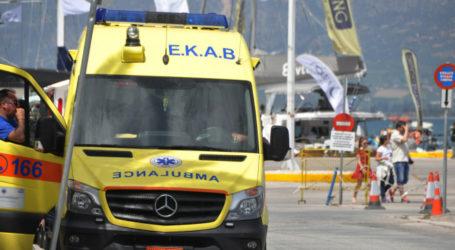 Στο Νοσοκομείο του Βόλου διακομίσθηκε 14χρονος από τη Σκόπελο