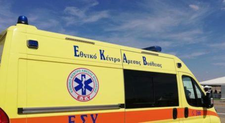 Τροχαίο με τραυματισμό γυναίκας στη Λάρισα