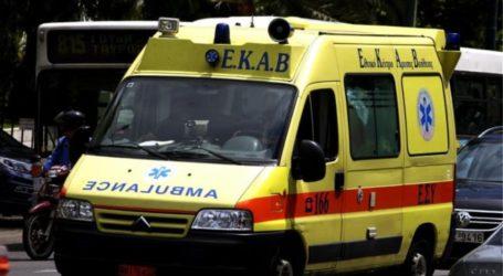 Τροχαίο ατύχημα στον Βόλο – Μηχανάκι παρέσυρε ηλικιωμένο