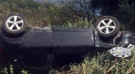 Τραυματισμός σε τροχαίο έξω από τη Λάρισα μετά από σύγκρουση αυτοκινήτων