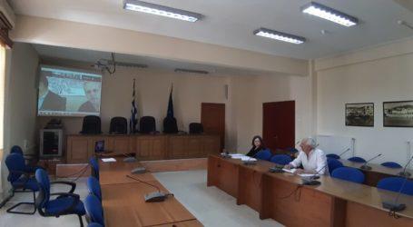 Στο Συντονιστικό της Πολιτικής Προστασίας της Π.Ε. Λάρισας συμμετείχε ο Δήμος Ελασσόνας