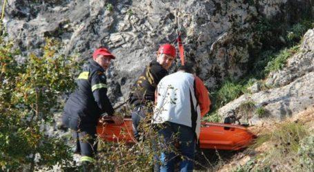 Λάρισα: Τραυματίστηκε περιπατητής σε λόφο – 8η ΕΜΑΚ και ΕΚΑΒ στο σημείο