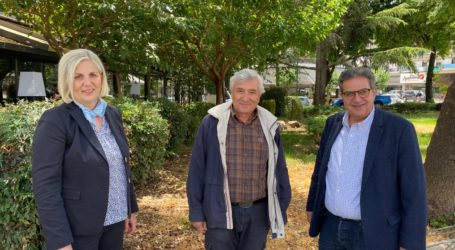 Συνάντηση Εσκίογλου με τον πρόεδρο των Αρχιτεκτόνων για την ανάπλαση της πλατείας Δημαρχείου