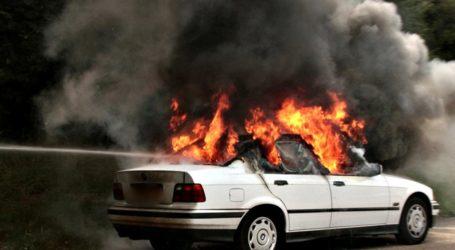 Βόλος: Φωτιά σε σταθμευμένο ΙΧ