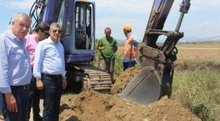 Νέο δίκτυο άρδευσης συνολικού κατασκευάζει στο Καλό Νερό η Περιφέρεια