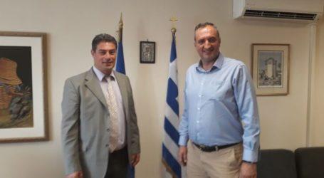 Ο δήμαρχος Τυρνάβου συναντήθηκε με τον αντιπρόεδρο του ΕΛΓΑ – Τι συζήτησαν