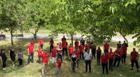 Εθελοντική δράση από Κτηματομεσητική εταιρεία σε συνεργασία με το δήμο Λαρισαίων