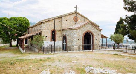 Βόλος: Πανηγυρίζει ο ναός της Ζωοδόχου Πηγής στον Λόφο της Γορίτσας