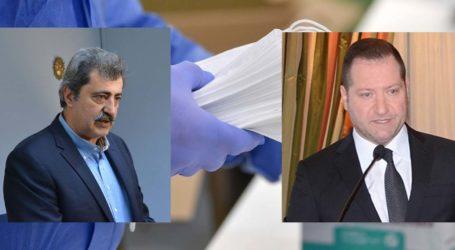 Στα δικαστήρια οδηγείται η κόντρα Πολάκη με Νταβέλη με φόντο το εργοστάσιο παραγωγής μασκών στη Λάρισα