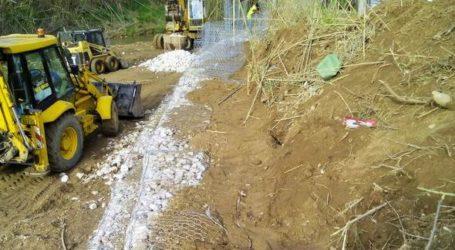 Βόλος: Διευθετεί το ρέμα Παιδόπολης στην Αγριά η Περιφέρεια Θεσσαλίας