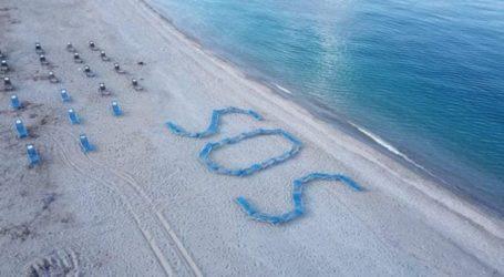 Κραυγή απόγνωσης από τους καταστηματάρχες στα παράλια της Λάρισας – SOS στην άμμο (φωτο)