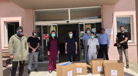 Δωρεά υγειονομικού υλικού από την «Άγονη Γραμμή Γόνιμη» στον Δήμο Σκιάθου
