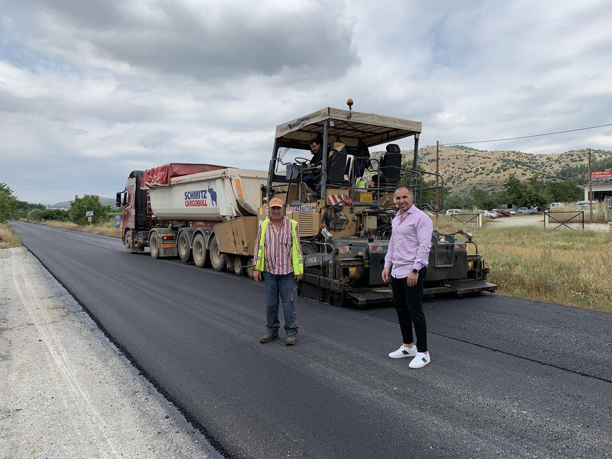 Έργα οδικής ασφάλειας 580.000 ευρώ από την Περιφέρεια Θεσσαλίας στα όρια της Βερδικούσιας