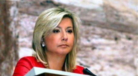 Η Ζέττα Μακρή θεωρεί επιβεβλημένη και επιτακτική τη χρηματοδότηση του εσωτερικού οδικού δικτύου του Βελεστίνου