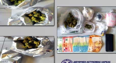 Σύλληψη στην Αθήνα από τη Δίωξη Ναρκωτικών Λάρισας – Κατασχέθηκαν πάνω από 600 γραμμάρια κάνναβης και 2.250 ευρώ