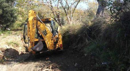 Καθαρίζει7 ρέματαστο Δήμο Τεμπών η Περιφέρεια Θεσσαλίας