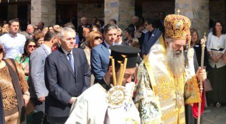 Χαρακόπουλος: Διπλά χαρμόσυνος ο εορτασμός του Αγίου Πνεύματος