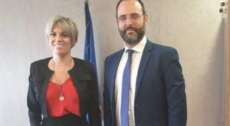 Λύσεις στα προβλήματα της Κασσαβέτειας ζήτησε ο Κων. Μαραβέγιας από τη Γ.Γ. Αντεγκληματικής Πολιτικής