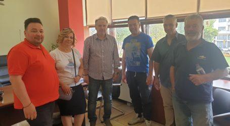 ΟΕΒΕΜ: Συνάντηση με τον Αντιδήμαρχο Οικονομικών Βόλου