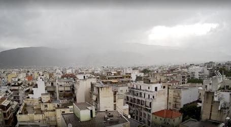 Έκτακτο δελτίο επιδείνωσης καιρού με βροχές, καταιγίδες και χαλαζοπτώσεις στη Θεσσαλία