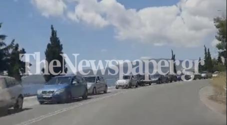 Βόλος: «Ουρές» χιλιομέτρων στον δρόμο για Αγριά