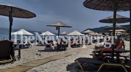 Στις παραλίες του Πηλίου οι Βολιώτες ανήμερα του Αγ. Πνεύματος – Δείτε εικόνες