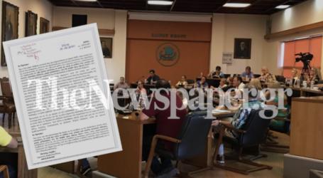 Πυρ ομαδόν εναντίον Ακρίβου – Ένταση στο δημοτικό συμβούλιο Βόλου [βίντεο]