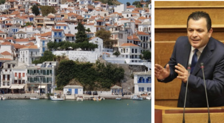 Χρηματοδότηση 692.000 ευρώ για το λιμάνι της Σκοπέλου από το Υπουργείο Εσωτερικών