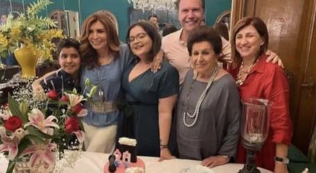 Ο Σωτήρης Πολύζος στο πάρτυ έκπληξη της Μιμής Ντενίση για τα γενέθλια της κόρης της
