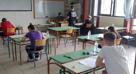 Βόλος: Χωρίς προβλήματα και με 91% συμμετοχή η πρώτη μέρα των Πανελλαδικών εξετάσεων