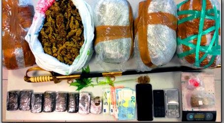 Βόλος: Ζευγάρι έκρυβε ναρκωτικά και ξίφος!