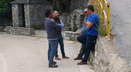 Ο Αλέξανδρος Μεϊκόπουλος στις πληττόμενες από τη χαλαζόπτωση περιοχές του Δήμου Ζαγοράς – Μουρεσίου