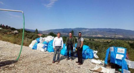 Με επιτυχία η συλλογή συσκευασιών φυτοφαρμάκων στο Δήμο Ελασσόνας