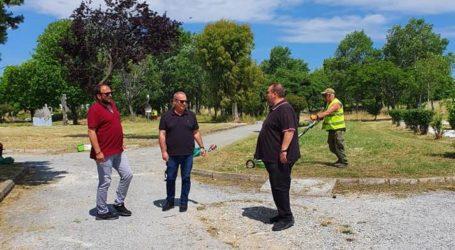 Βόλος: Αυτοψία αντιδημάρχων σε πάρκα και πλατείες