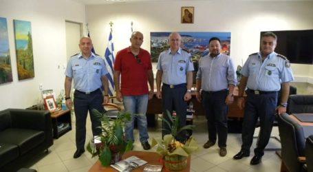 Με τους Ηλεκτρολόγους συναντήθηκε ο Αστυνομικός Διευθυντής Μαγνησίας