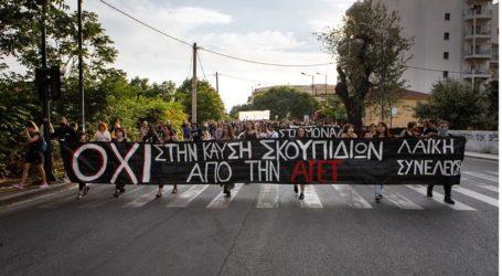 Λαϊκή Συνέλευση Πλ. Ελευθερίας εναντίον Αστυνομίας και ΜΜΕ