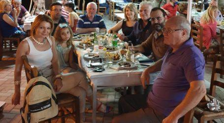 Με στελέχη της ΝΔ συνέφαγε ο Κ. Μαραβέγιας